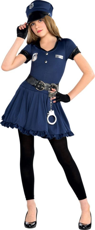 Cute Cop Costume for Girls   Party City