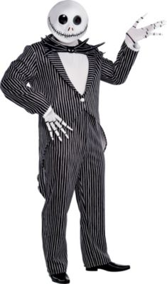 Adult Jack Skellington Costume Plus Size - The Nightmare Before Christmas | Party City  sc 1 st  Party City & Adult Jack Skellington Costume Plus Size - The Nightmare Before ...