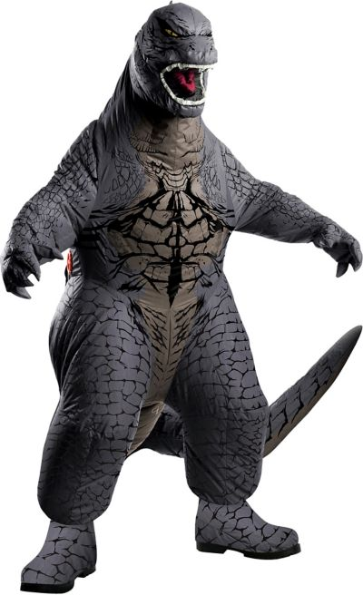 Adult Inflatable Godzilla Costume Party City