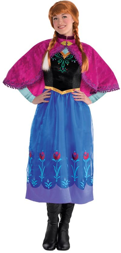 anna costumes teens for Elsa and