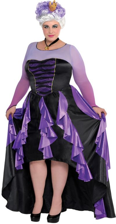 adult ursula costume couture plus size the little mermaid party city