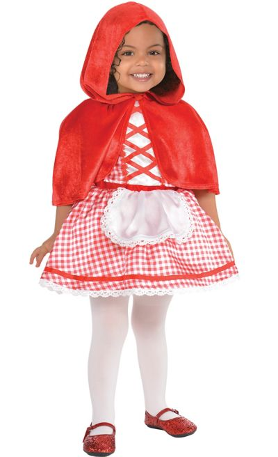 Baby Little Red Riding Hood Costume - Party City