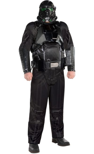 Death Trooper Costume Kids Star Wars Rogue One Halloween Fancy Dress