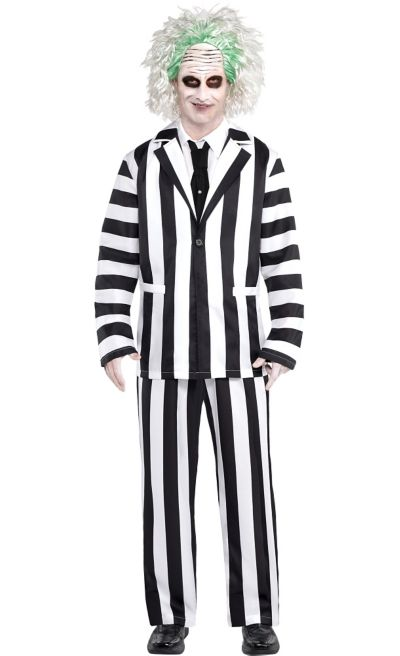 Beetlejuice Halloween Costume For Adults Party City
