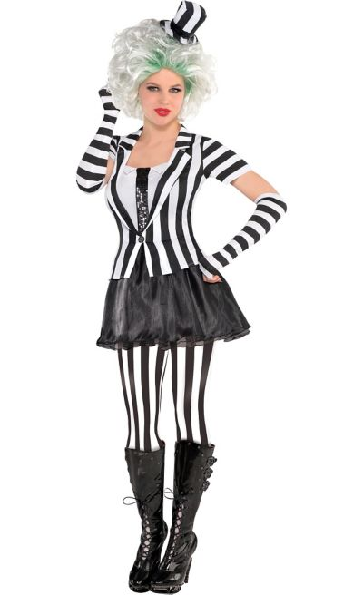 Adult Mrs Beetlejuice Costume Party City