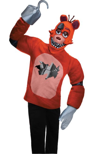 teen foxy costume five nights at freddys party city