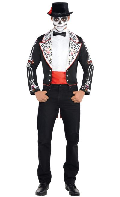 Adult Day of the Dead Costume - Party City