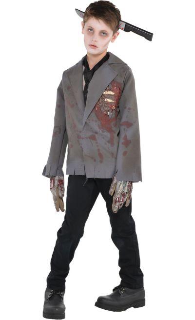 Halloween Zombie Costume.Boys Zombie Costume Party City
