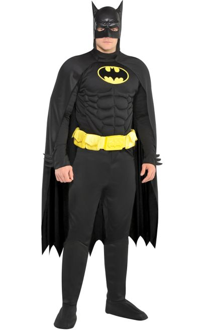 adult batman muscle costume party city