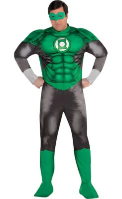 Adult Green Lantern Muscle Costume Plus Size - DC Comics New 52 | Party City Canada  sc 1 st  Party City & Adult Green Lantern Muscle Costume Plus Size - DC Comics New 52 ...