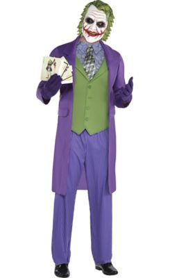 sc 1 st  Party City & Adult Joker Costume - The Dark Knight   Party City