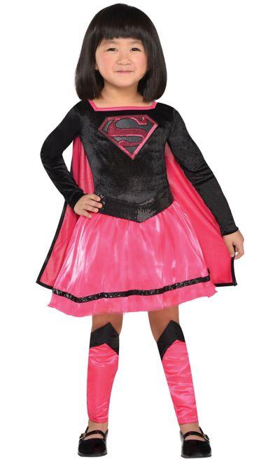 Superman//Supergirl Baby Body Mädchen pink