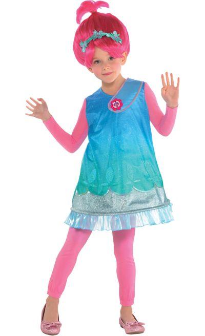 girls poppy costume trolls party city