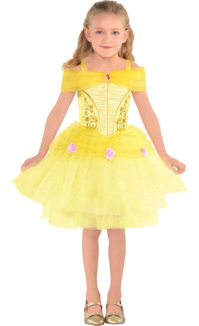 Girls Belle Costume Beauty And The Beast Party City