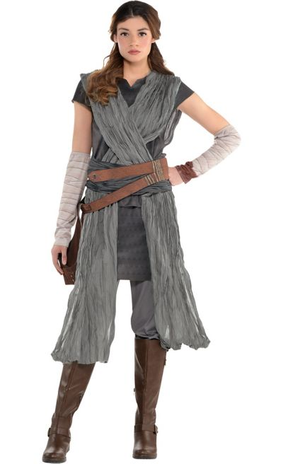 Star Wars 8 The Last Jedi Rey Costume