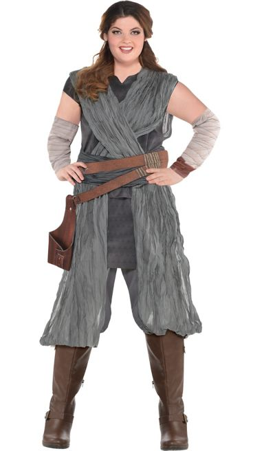 Adult Rey Costume Plus Size - Star Wars 8 The Last Jedi  db171f110