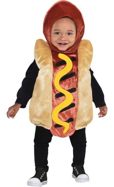 Baby Mini Hot Dog Costume