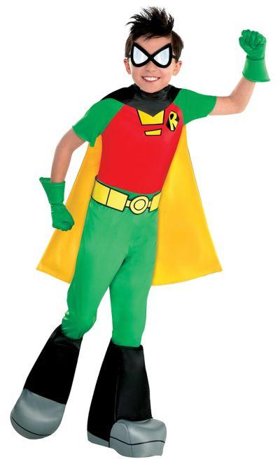 Boys Robin Costume - Teen Titans Go  Party City-9076