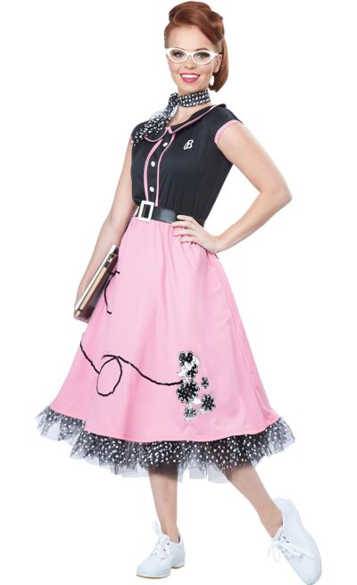 Womens 50s Poodle Skirt Costume Party City