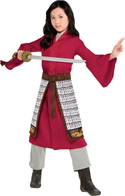 Child Mulan Costume Mulan Live Action Mulan Party Supplies Party City