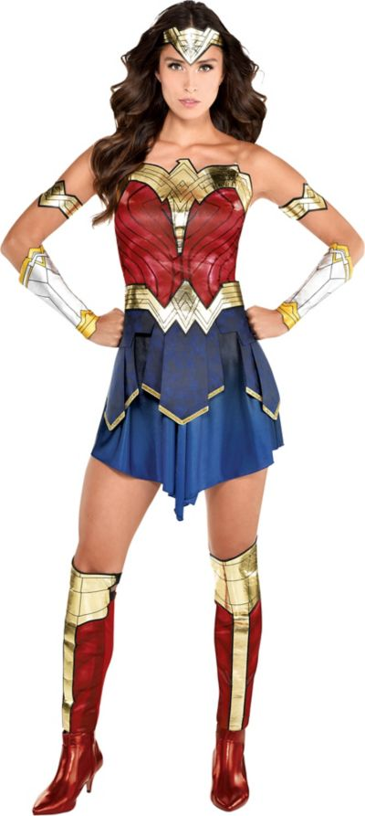 Wonder Woman Costume For Adults Ww 1984 Party City
