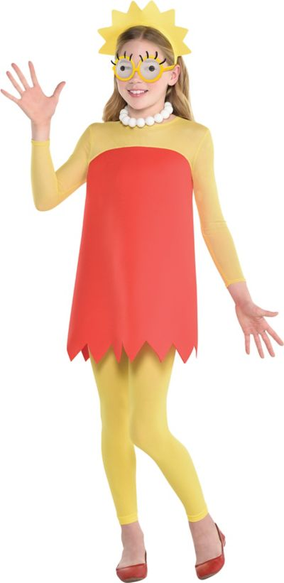 Lisa Costume For Kids The Simpsons Party City