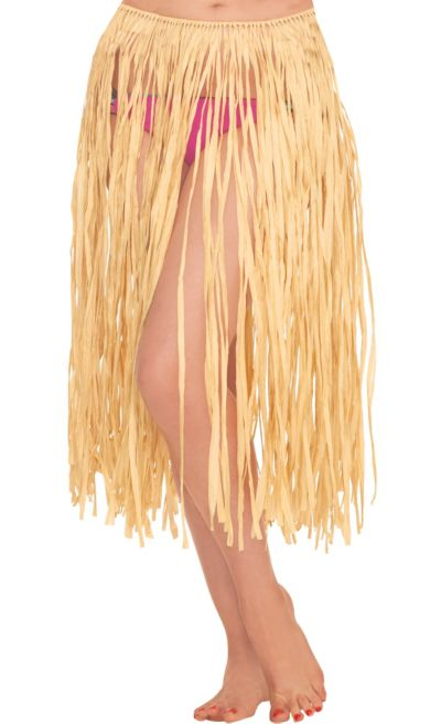 XL 28 x 42 Amscan Adult Grass Party Hula Skirt