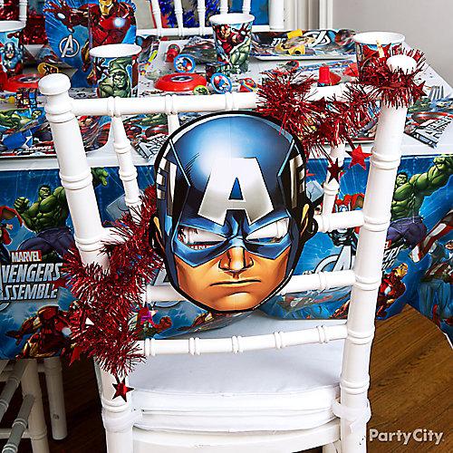 Avengers Chair Deco DIY