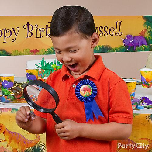 Prehistoric Dinosaur Birthday Outfit Idea
