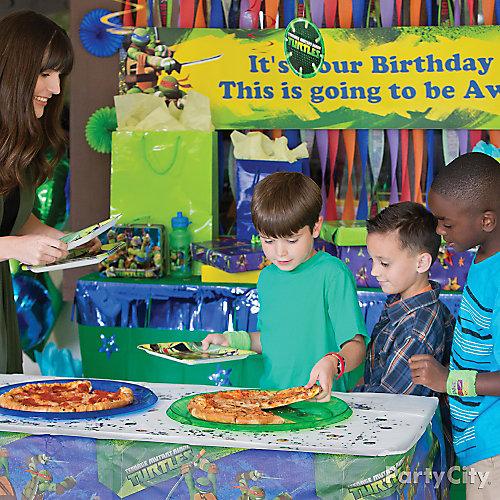 TMNT Pizza Party Idea