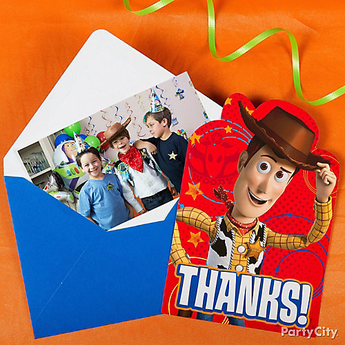 Toy Story Thank You Note Idea