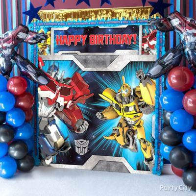 Transformers Photo Booth DIY Decorating Ideas Transformers Party