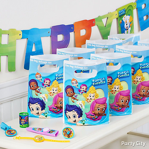 Bubble Guppies Favor Pack for 8 Idea