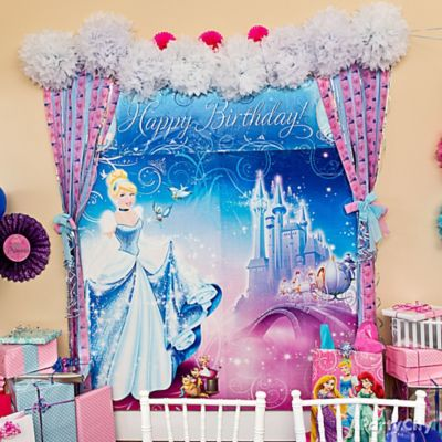 Cinderella Scene Setter Idea Decorating Ideas Cinderella Party