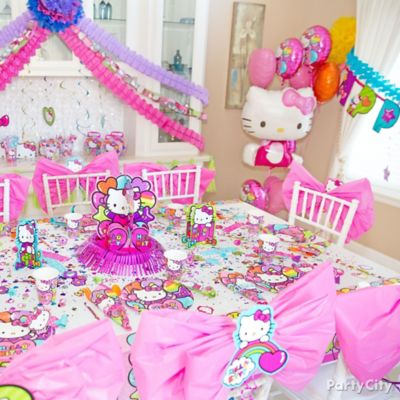 Hello Kitty Party Table Idea Party City Party City