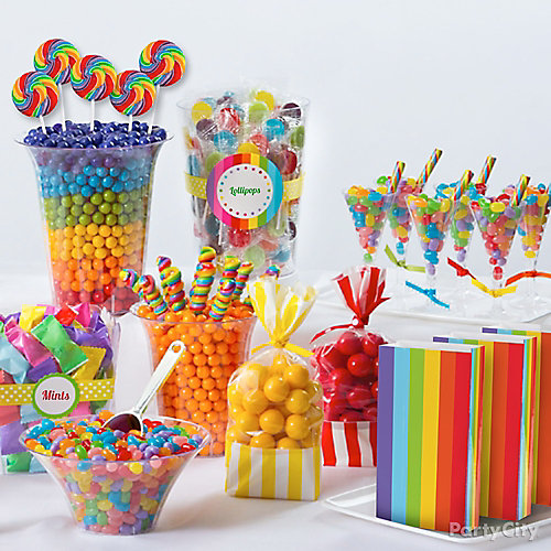 Rainbow Candy Ideas