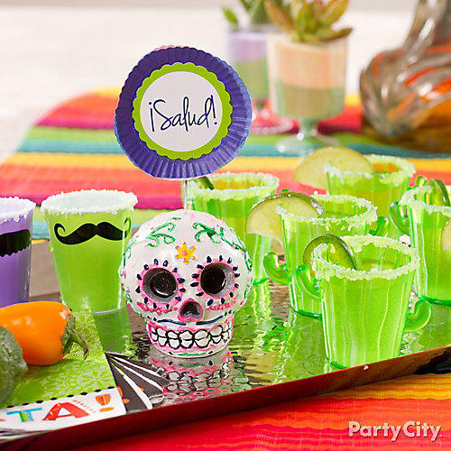 Tequila Shots Display Idea