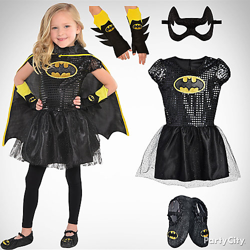 Girls' Batgirl Costume Idea