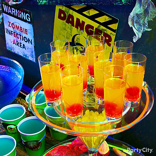 Zombie Bloody Eyeball Shooters Idea