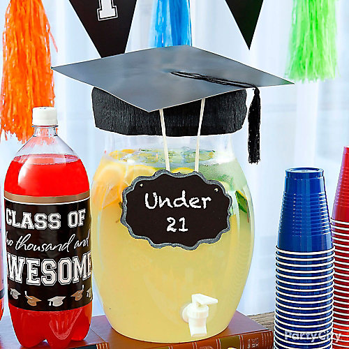 Graduation Under 21 Lemonade Idea