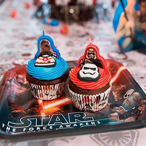 Star Wars Birthday Cupcake Idea