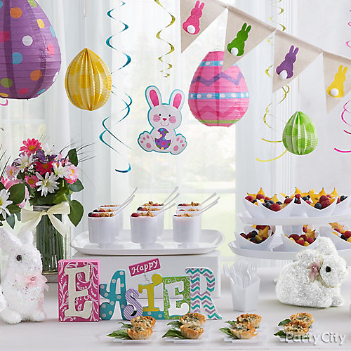 Easter Hanging Decorations Idea