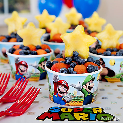 Super Mario Super Stars Fruit Cup