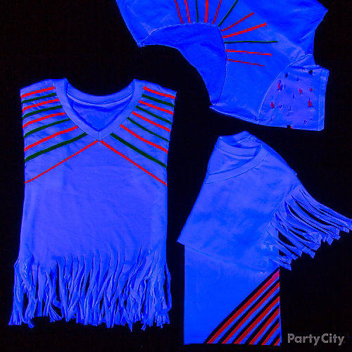 Black Light Party T Shirts Idea