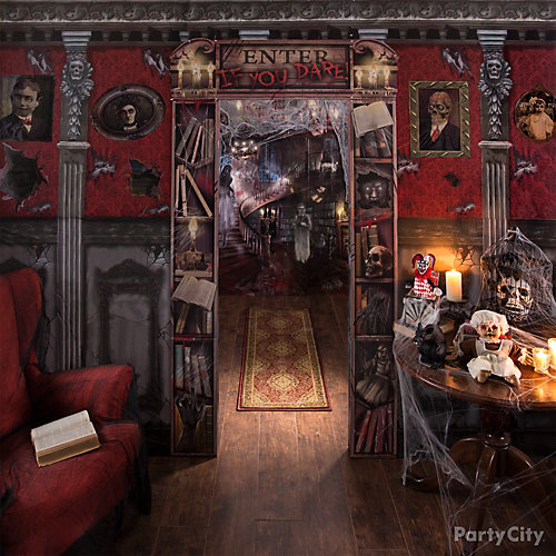 Secret Library Decorating Idea