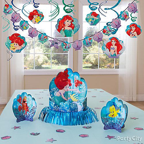 Little Mermaid Essential Decorations Idea