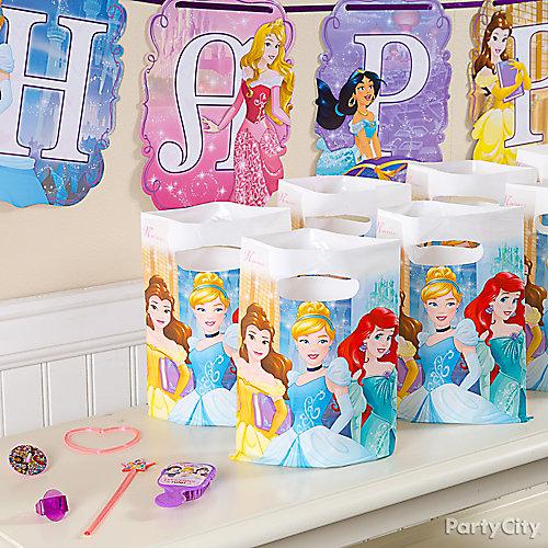 Disney Princess Favors for 8 Idea