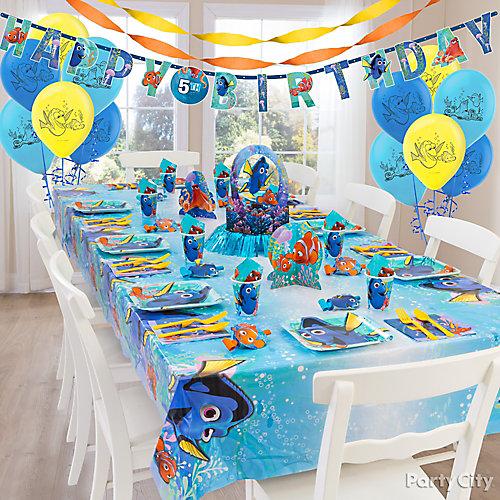 Dory Party Table Idea