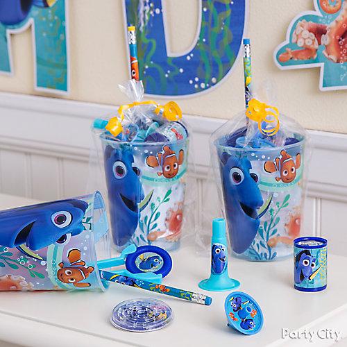 Dory Favor Cup Idea