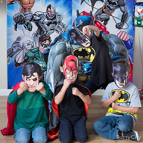 Justice League Suit Up Idea